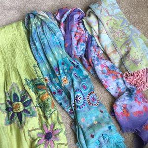 Scarf Bundle -Includes 4 scarves